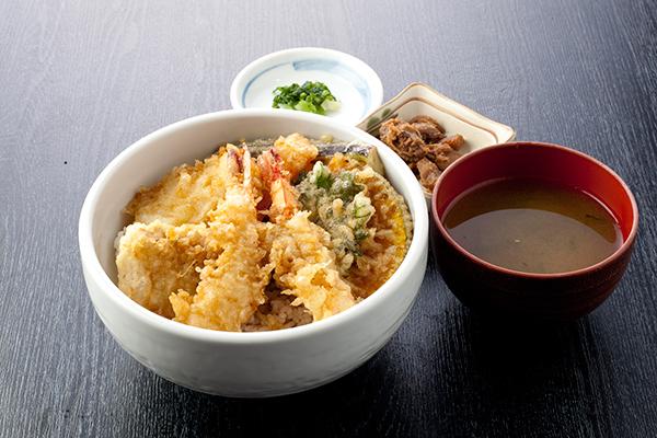 地魚天ぷら丼