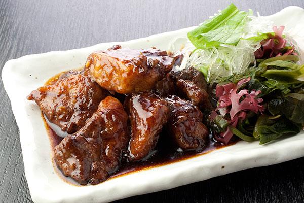 鮪かま肉ステーキ