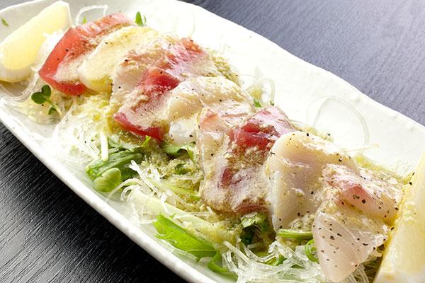 カルパッチョ(魚のサラダ)